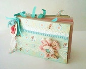 Paperbag Journal Cottage Chic Keepsake Book