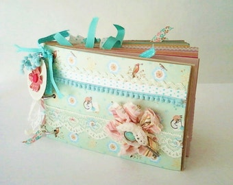 Paperbag Journal Cottage Chic Keepsake Book