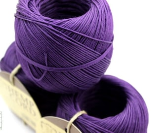 Purple Hemp Cord,  400ft Hemp Twine Ball, Colored Twine, Craft String