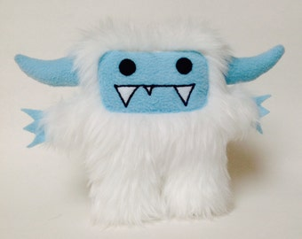 Jack the abominable snowman yeti plush monster