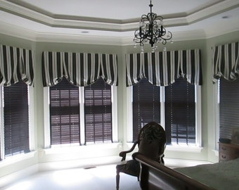 Custom London shade with your fabric