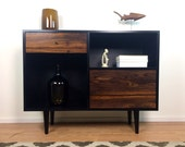 Cordial Console Credenza Featuring Zebra wood Wood - custom for Cathi