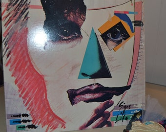 Billy Squier  Signs of Life Vintage Record