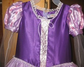 Every girls dream dress. I've created my version of a Tangled costume.