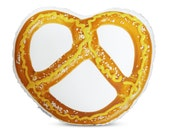 OVERSTOCK SALE!  Salted Pretzel Printed Pillow