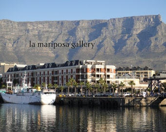 Original Fine Art Photo of Waterfront in Cape Town South Africa