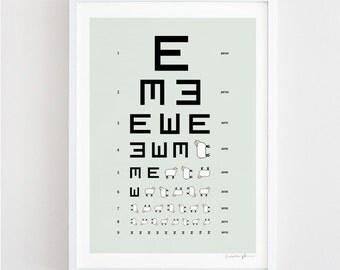 The EWE Chart - art print
