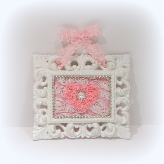 10 Shabby Chic Nursery Design Ideas: Shabby Chic Wall Decor Baby Girl Nursery By Uniqueboxboutique