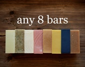 8 Bars of Handmade Soap - FLAT SHIPPING in Canada and Discounted Shipping to USA