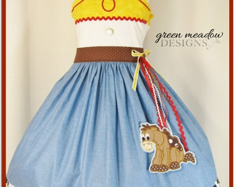 Jessie Toy Story Character Dress
