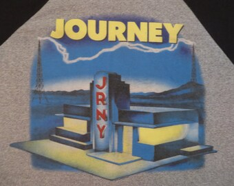 JOURNEY vintage 1986 tour TSHIRT