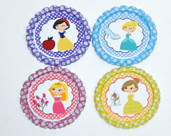 Princess Bottle Caps