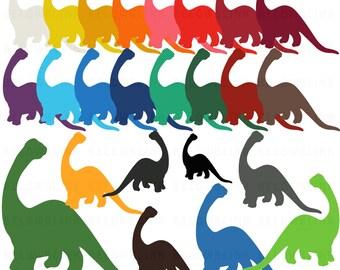 Dinosaur Digital Clip Art Commercial Use - Instant Download  - DP262