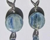 Shimmering Blue Kyanite Earrings