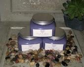 Emulsified Dead Sea Salt Bath Shower Scrub Lavender Breeze