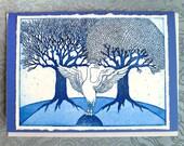 The Swan King Card