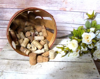Huge Lot Corks Wine Champagne Repurpose Natural craft projects bowl fillers 10 lbs 750 pieces