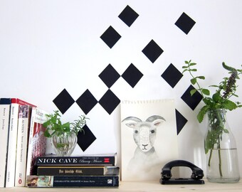 squares - wall decals