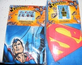 Superman curtain and valance set