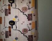 SUNG Vintage Japanese Inspired Upholstery Fabric, Yardage SALE
