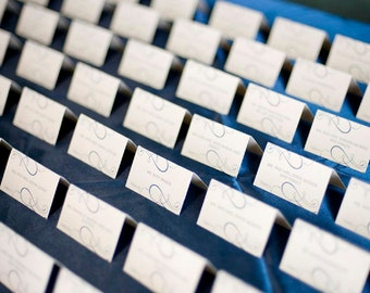 Editable Place-card Template - Printable DIY