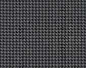 1 Yard of Tiny Houndstooth Charcoal by Michael Miller