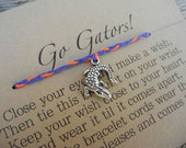 Love my Gators Inspired Wish Bracelet