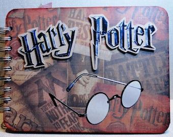 Harry Potter Premade Chipboard Album Just Add Photos