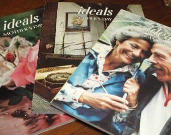 3 Ideals Magazines - Mothers Day, Fathers Day and Grandparents