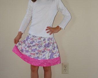 Little Girls Skirt  Size 2 - 5