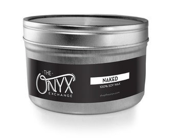 Naked Unscented - 4 oz. Tin Soy Wax Candle