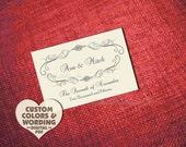 PRINTABLE FLOURISH & CURLICUE Save The Date Design Pdf Wedding Anniversary Shower Enagagement Party Vintage Invitation Suite Template Rustic