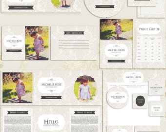 Michelle Premade Photography Marketing Set Templates
