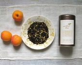 Organic Apricot Brandy Black Tea • 3.5 oz. Tin • Luscious Full-Bodied Luxury Loose Leaf Tea Blend