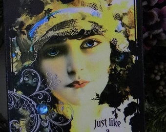Just Like A Gypsy Decorative Wall Decor Plaque Sign