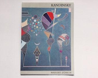 Vintage Rare Art Gallery Catalogue Kandinsky - Galerie Maeght Zurich 1972