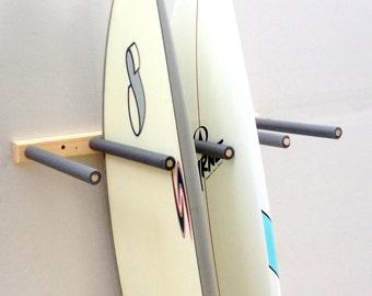 Vertical Surfboard Wall Rack