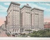 Early Hotel St. Francis San Francisco PC Great Street Scene