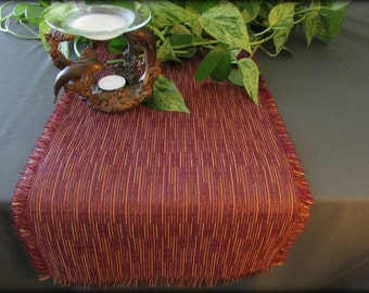Table Runner, Burgundy, 12 x 42.5, FREE SHIPPING