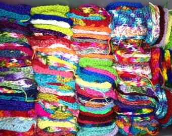 SALE 100 Crochet Granny Squares - 4 inches