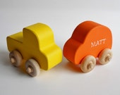 Wooden Vehicles, Car, Truck, Waldorf Toy, Nursery Decor, Childs Room