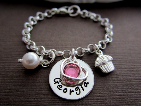 Childrens Jewelry Kids Name Jewelry Bracelet Gift by