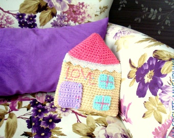 Crochet Cushion Pattern, Instant Download, cushion, pillow pattern, tutorial, download