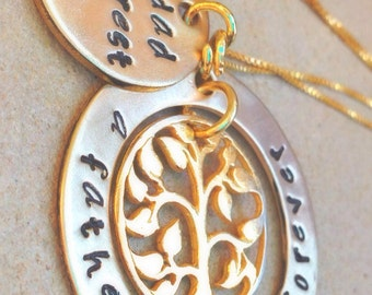 memorial necklace, rememberance necklace, tree of life necklace, loved one, loss, loss of father, loss of mother, loss of  friend,