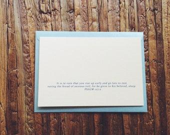 Rest - Psalm 127:2