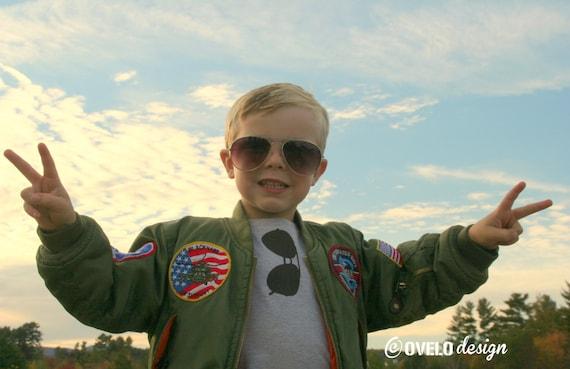 THE ORIGINAL Aviator Sunglasses T Shirt Pick Your Color