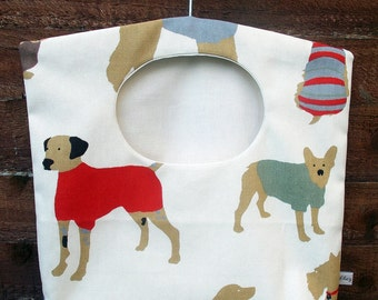 Clothespin bag - laundry bag - dog lovers gift - laundry bag - peg bag - ideal gift - housewarming gift - eco friendly gift