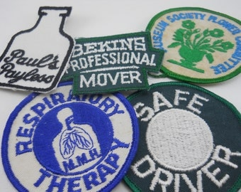 professional uniform patch, look useful, 3 remain, gain prestige the easy way: pretend you earned it; adorn your shirt, backpack or jacket