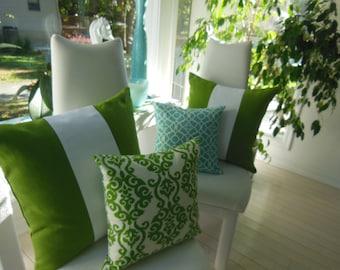 Custom Pillows - Decorative Pillows - Customize Your Own Pillowscape Design Pillow - You Select The Fabrics To Match Your Home Decor