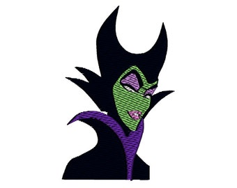 MALEFICENT - Digitized Embroidery File